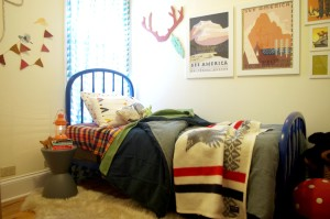 Whimsical Frontier Toddler + Baby Room
