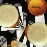 Lunar Fizz Cocktail + Mocktail