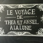 Le Voyage Dans La Lune (A Trip to the Moon) Birthday Party