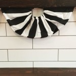 """Pleated"" Flag Bunting DIY"