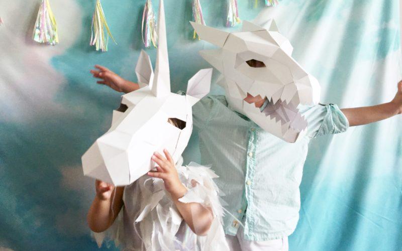Unicorn + Dragon Cloud Realm Birthday Party
