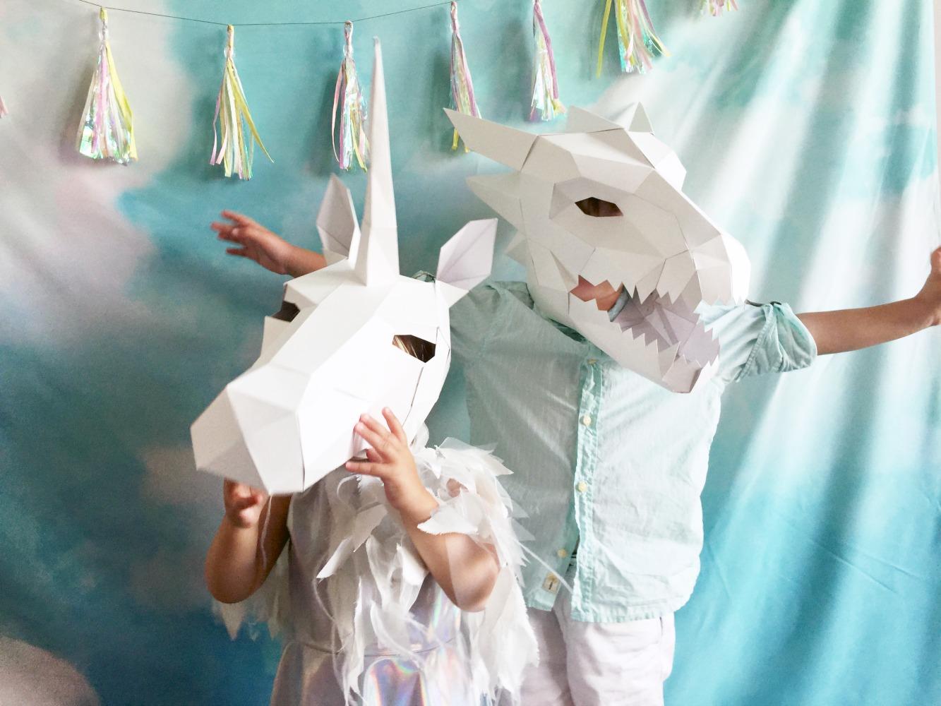 Unicorn Dragon Cloud Realm Birthday Party