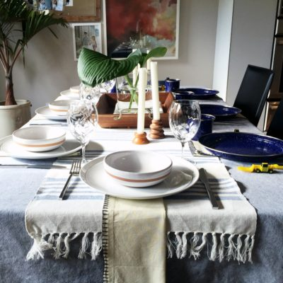 Italian Dinner Party Place Setting