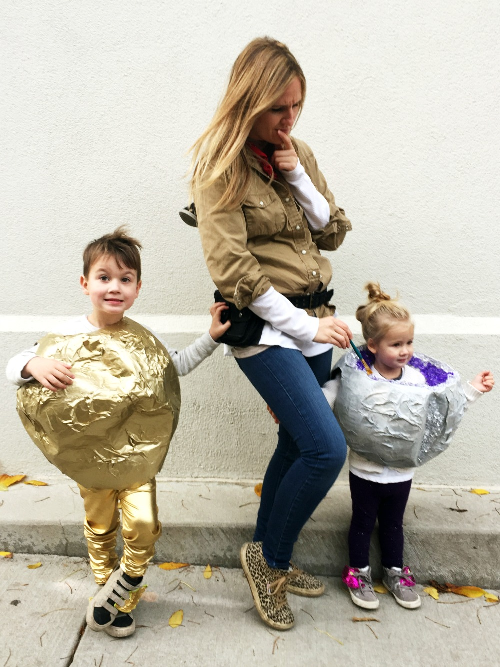 sc 1 st  Gilded & Golden Nugget Amethyst Geode DIY Halloween Costumes with Mommy