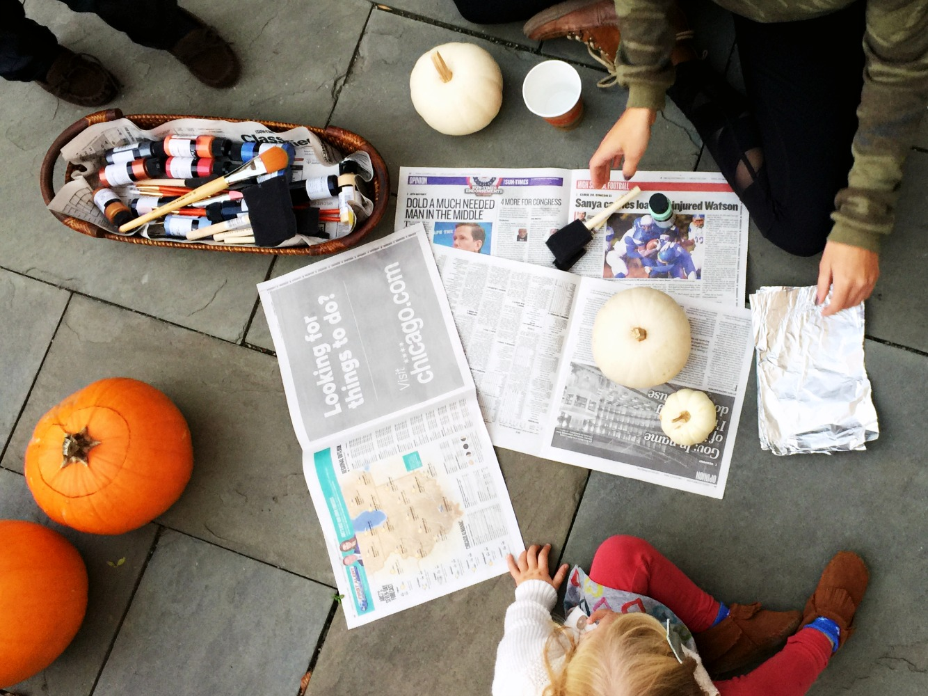 Fireside Pumpkin Carving Party + DIY Geode and Golden Nugget ...