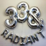 33 & Radiant Birthday Party