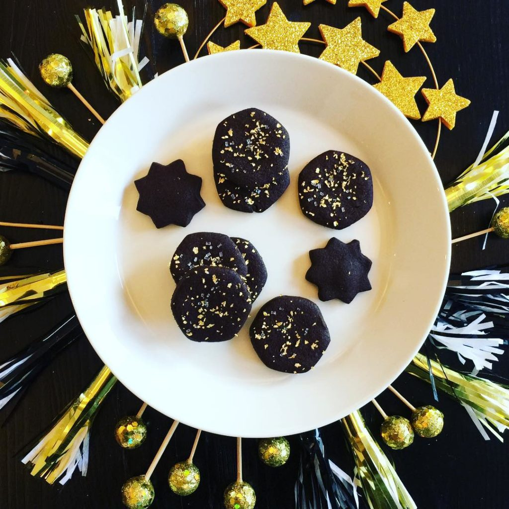 Any excuse will do to bake these chocolate shortbread cookieshellip