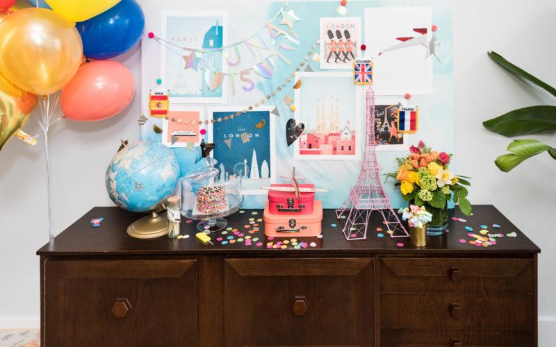 Ready! Set! Jet! – Baby's Bon Voyage Birthday Brunch